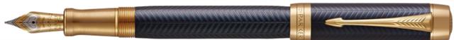 Duofold Chevron Blue horizontaal