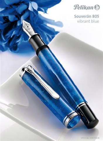 Vibrant blue lim